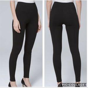 WHBM Instantly slimming leggings w/back seams S